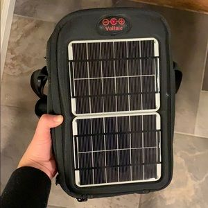 Eco Voltaic Systems Solar Powered Charging Bag